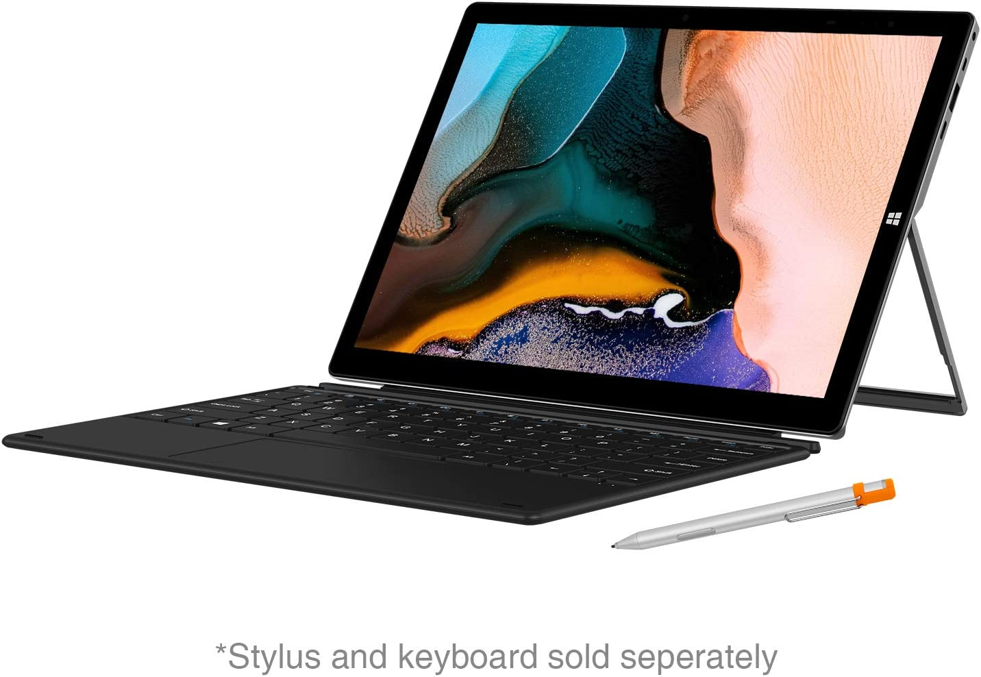 CHUWI UBook X 12'' Touchscreen 2-in-1 Windows 10 Tablet PC, Intel N4100 Quad Core Processor, 2K Display, 8GB RAM/256GB SSD with Type-c, USB 3.0 (Keyboard and Pen not Included)
