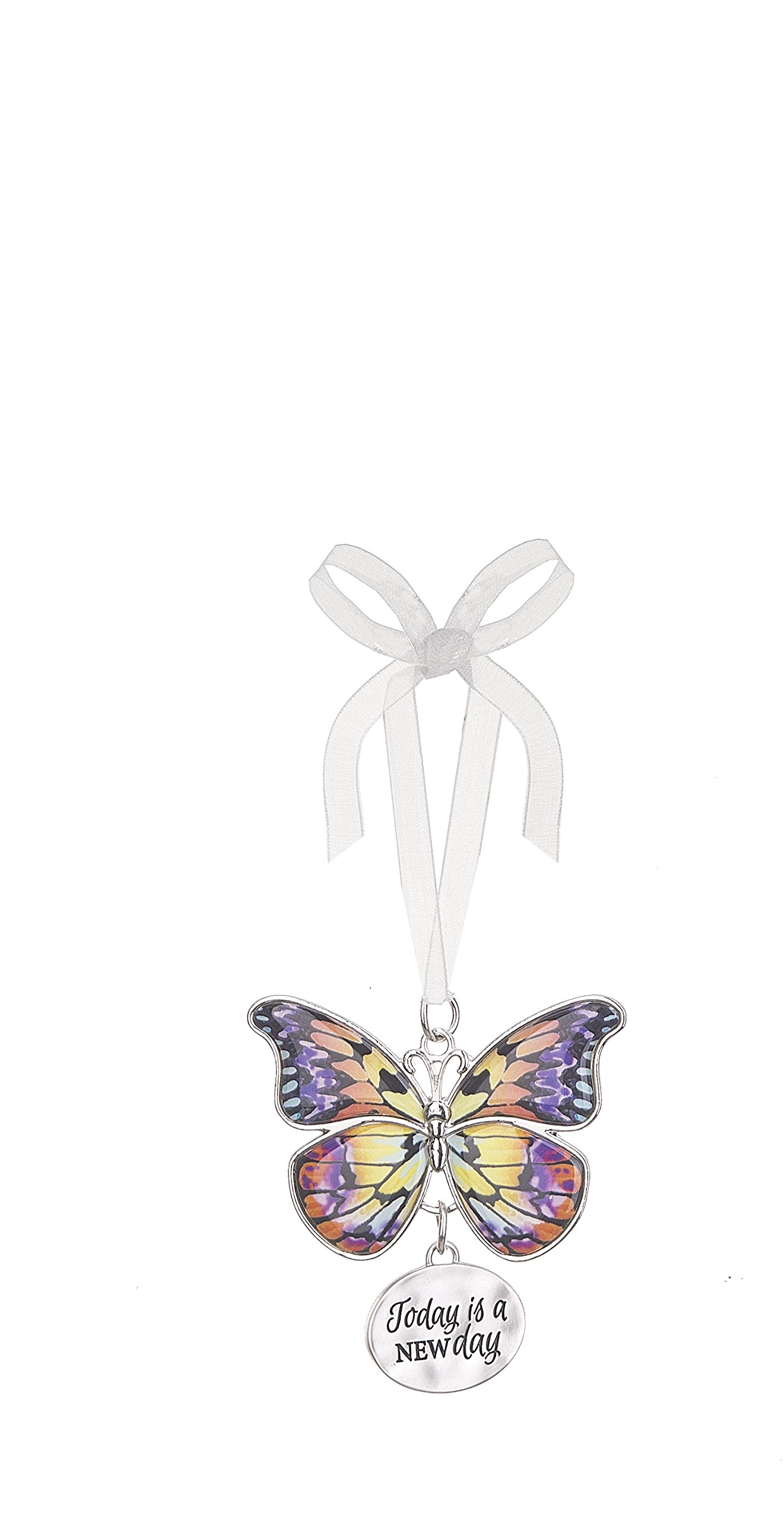 Ganz Home Decor Christmas/Spring Blissful Journey Butterfly Ornament (Today is a New Day EA13551)