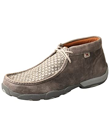 26a8fa769f6d9 Amazon.com: Twisted X Men's Woven Driving Moccasin Shoes Moc Toe: Shoes