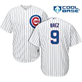 dbc8b645762 Amazon.com  Majestic Javier Baez Chicago Cubs MLB Youth White Home ...