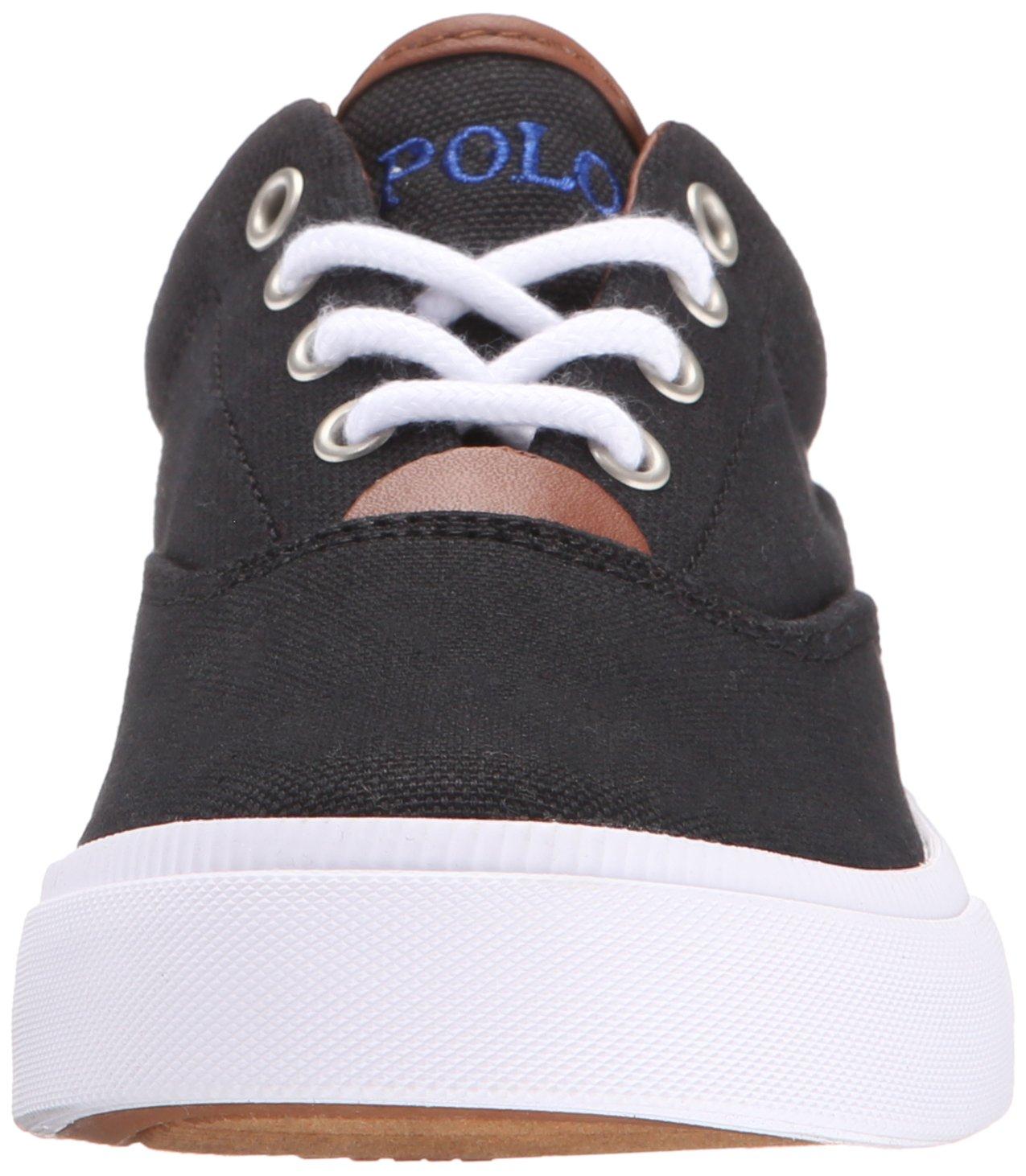 Polo Ralph Lauren Ralph Kids Kid/Big Vaughn II Fashion Black Sneaker  (Little Kid/Big Kid) Black 923c830