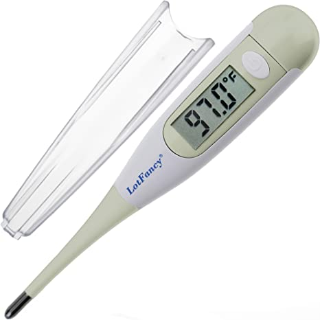 Durable LCD Fast Reading Baby Digital Thermometer for Oral Rectal /& Axillary New