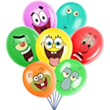 SpongeBob Inspired SquarePants Party Supplies, Birthday Party Balloons for SpongeBob Theme Party, Includes 7 Styles…