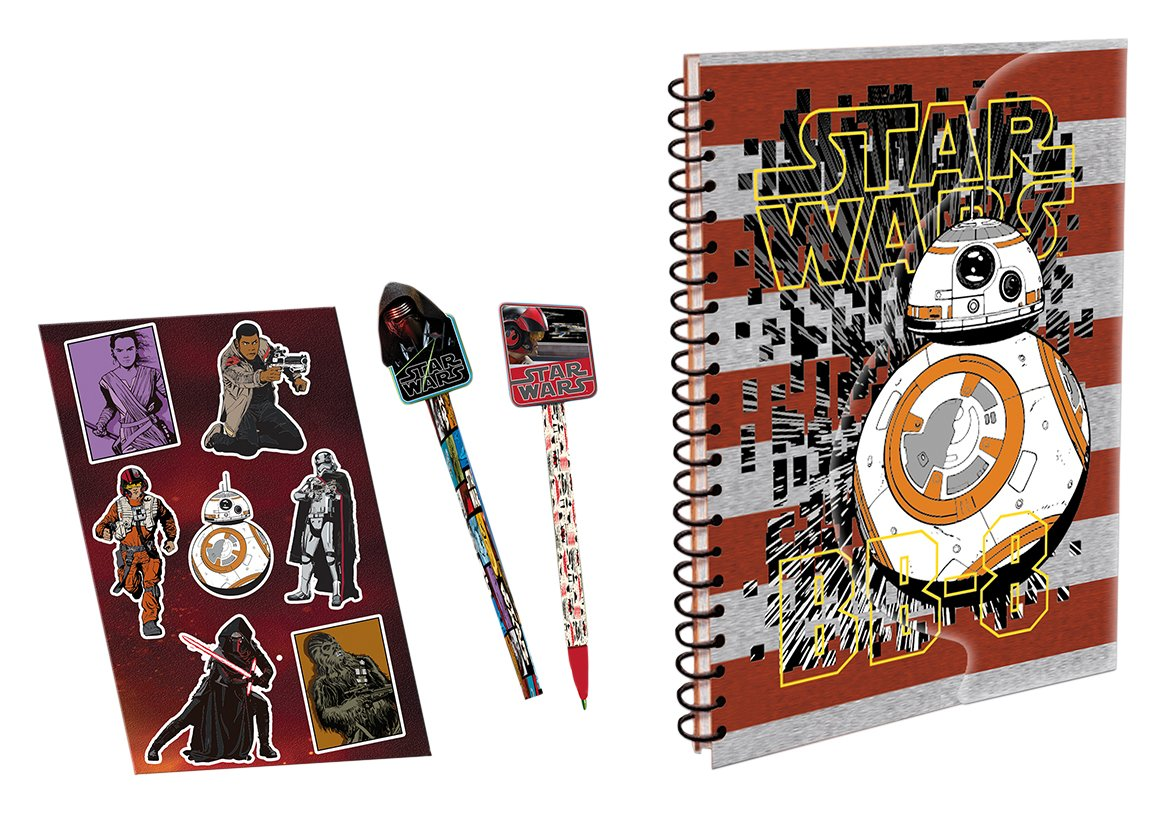 Simba - 40305 - Star Wars EP. VII Journal Et Accessoires - Smoby