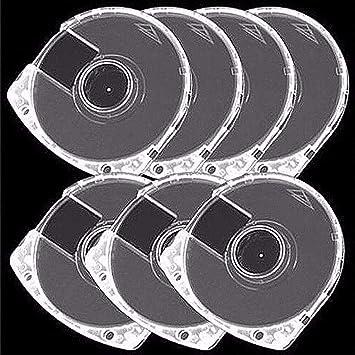 Yesoa - Caja Doble Transparente para CD y DVD (10 Unidades, 7 mm ...