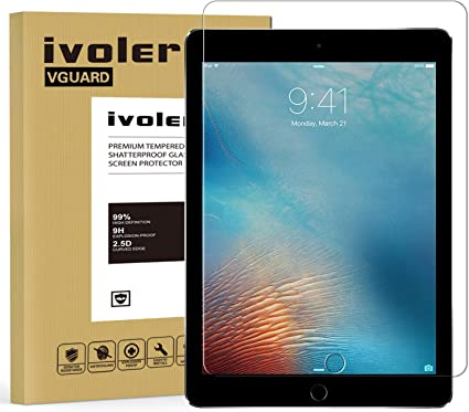 ivoler Protector de Pantalla para iPad 9.7 Pulgadas 2018 / iPad ...