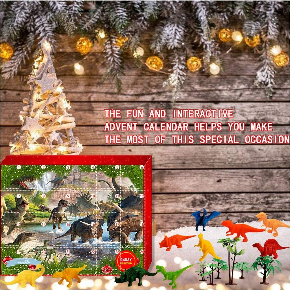 Natale 2021 Calendario.Kooshy Calendario Dellavvento Dinosauro 2021 24 Pezzi Varie Sorprese Giocattoli Di Dinosauro Regalo Di Natale Per Ragazze Calendari Dell Avvento Giochi E Giocattoli Artagentsinternational Com