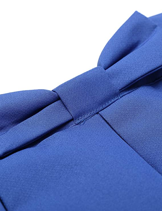 High waisted Ribbon Pleated Midi Skirt