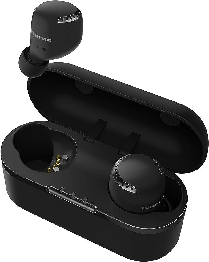 Panasonic RZ-S500WE-K - Auriculares True Wireless Inalámbricos con Sensor Táctil (Batería Larga Duración y Antena Compatible con Asistentes de Voz) ...