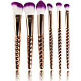 STELLAIRE CHERN 7 Pcs Set Make Up Brush Beauty Blush Eye brow Cosmetics Eyeliners Eye shadow Foundation Travel Set
