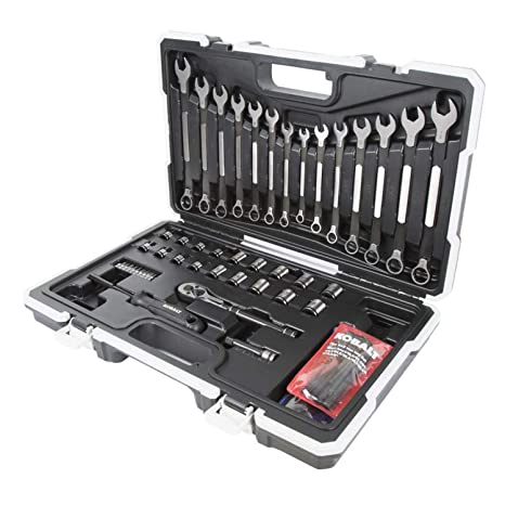 Stupendous Kobalt Universal 67 Piece Standard Sae And Metric Mechanics Tool Set With Hard Case Ibusinesslaw Wood Chair Design Ideas Ibusinesslaworg