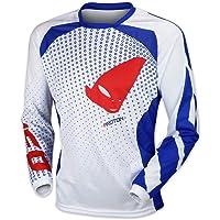 8021317505VAR - Camiseta enduro offroad PROTON MADE IN ITALY MG04441WM COLOR BLANCO TALLA L