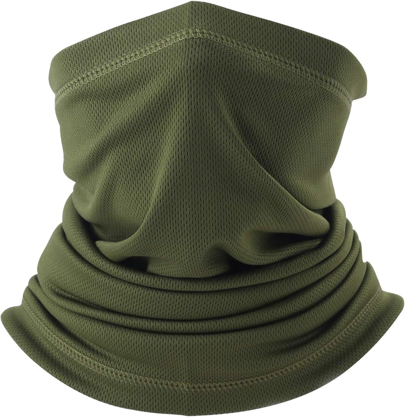 LONGLONG Summer Face Scarf Mask - Windproof, Breathable and Thin Cycling Hiking Fishing Cool Bandana