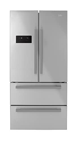 Beko GNE60521X Independiente 549L A+ Acero inoxidable nevera ...