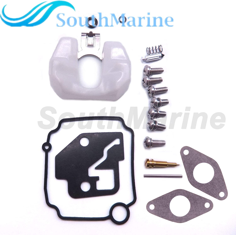 8M0044576 Carburetor Repair Kit for Mercury Mercruiser Quicksilver Outboard Engine 8HP 9.9HP Fricgore Boat Engine Parts