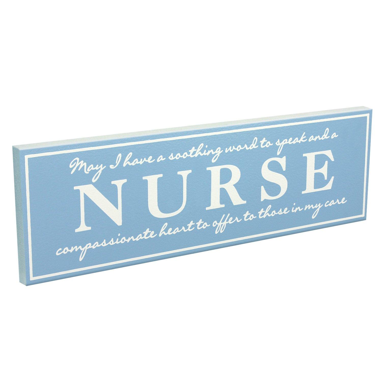 Nurse My Word 5x16 Wooden Sign