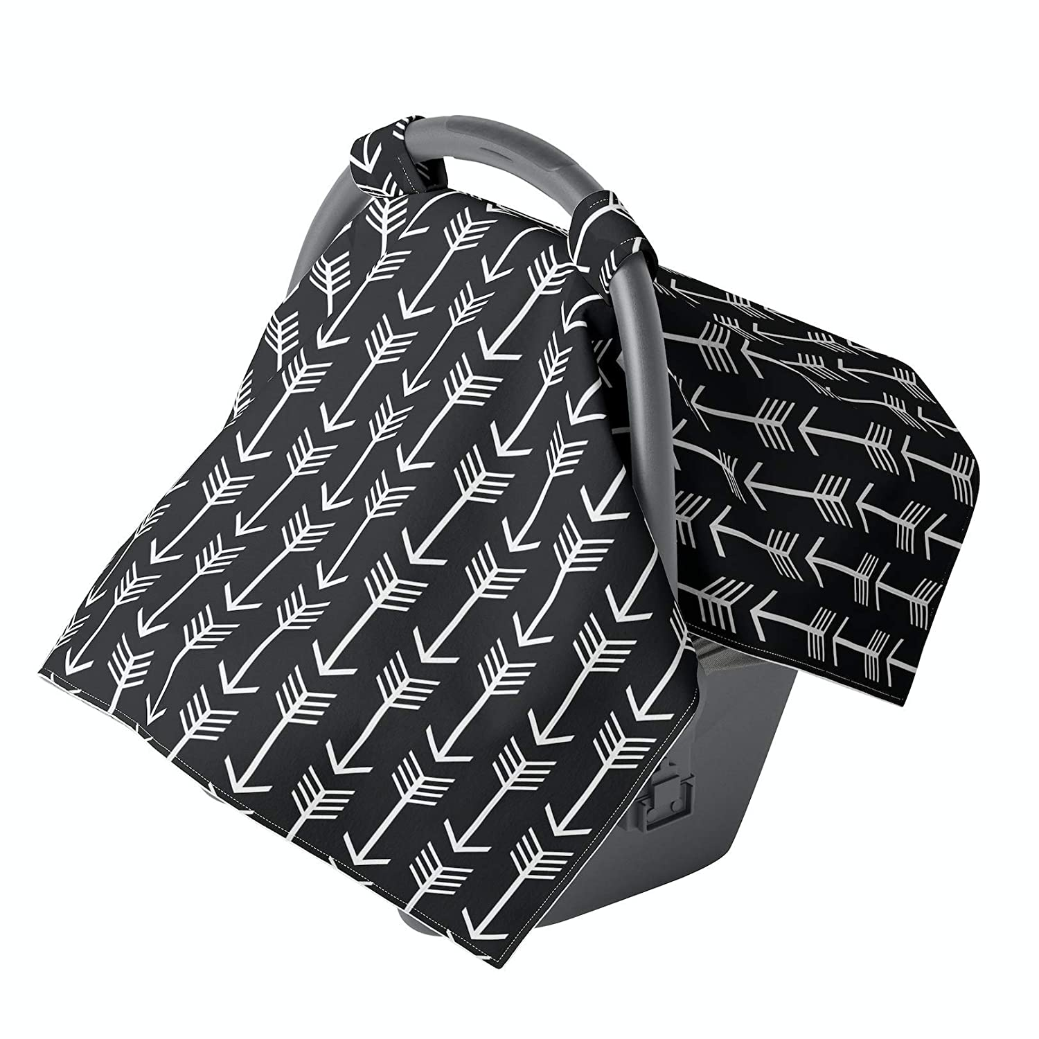 Car seat Covers for Babies - Carseat Canopy - Baby car seat Cover for Boys and Infant Girls (Arrows)