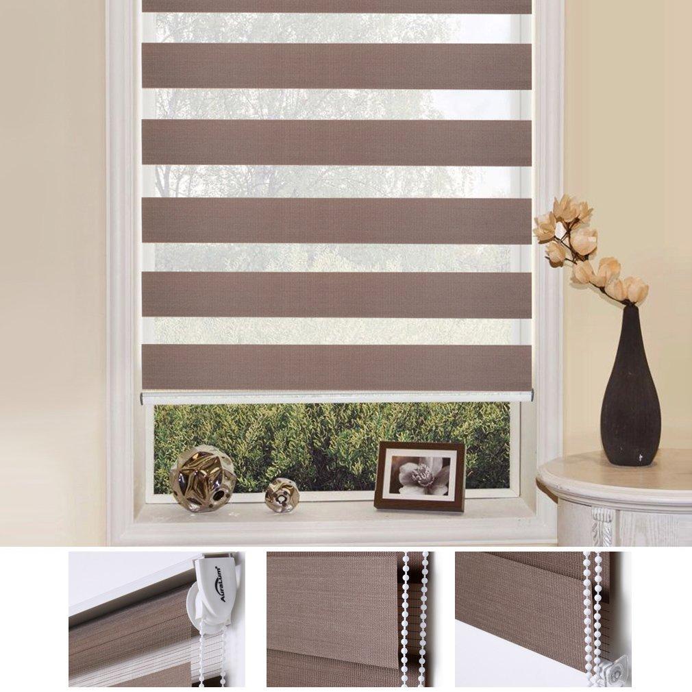 Estores para salones decoracion cortinas salones estores for Cortinas cortas baratas
