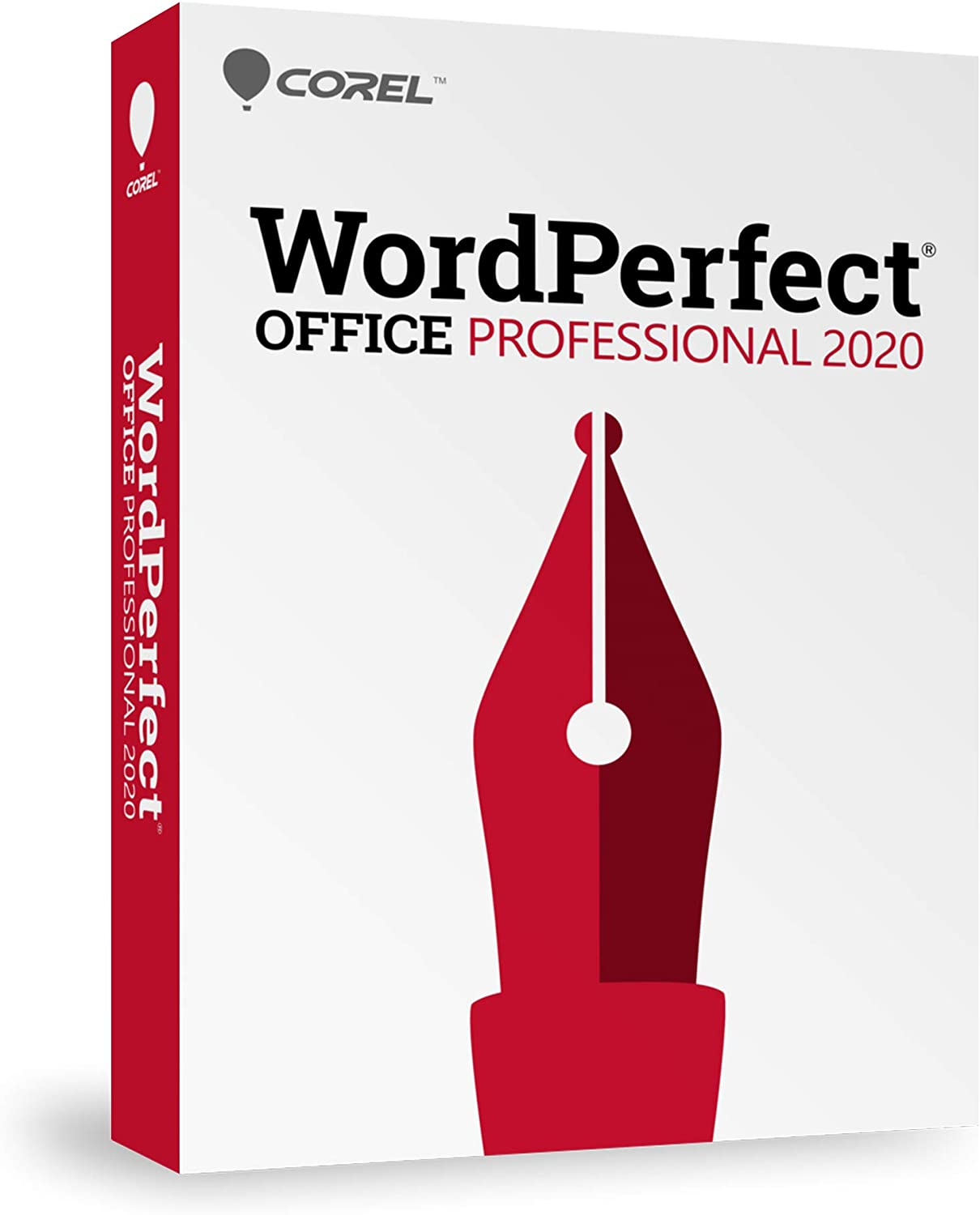 Corel WordPerfect Office 2020 Professional | Word Processor, Spreadsheets, Presentations, Paradox Database Management Documents, Letters, Contracts, Pleading papers, eBooks [PC Disc]