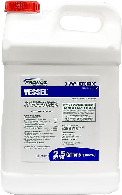 Amazon Com Vessel 3 Way Herbicide Prokoz Inc Pond Lake Supplies Garden Outdoor