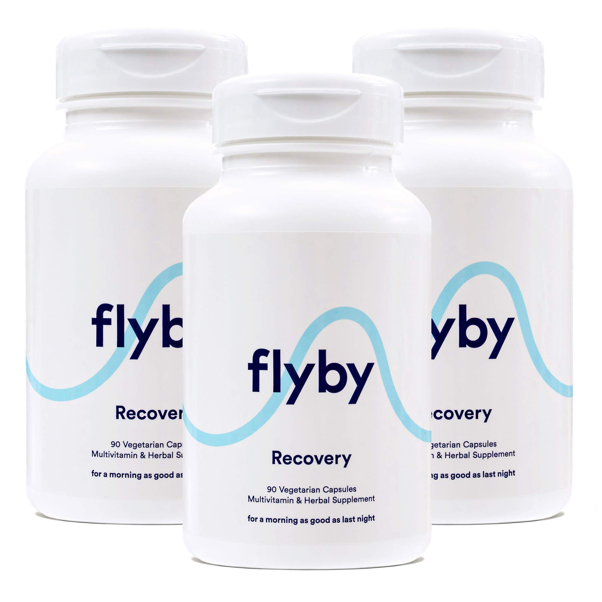 Flyby Hangover Cure & Prevention Pills (270 Capsules) | Dihydromyricetin (DHM), N-Acetyl-Cysteine, Chlorophyll, Prickly Pear, Milk Thistle for Alcohol Recovery | Certified Organic & Made in USA