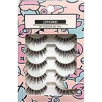 JIMIRE Fake Eyelashes Natural Lashes False Eyelashes Multipack