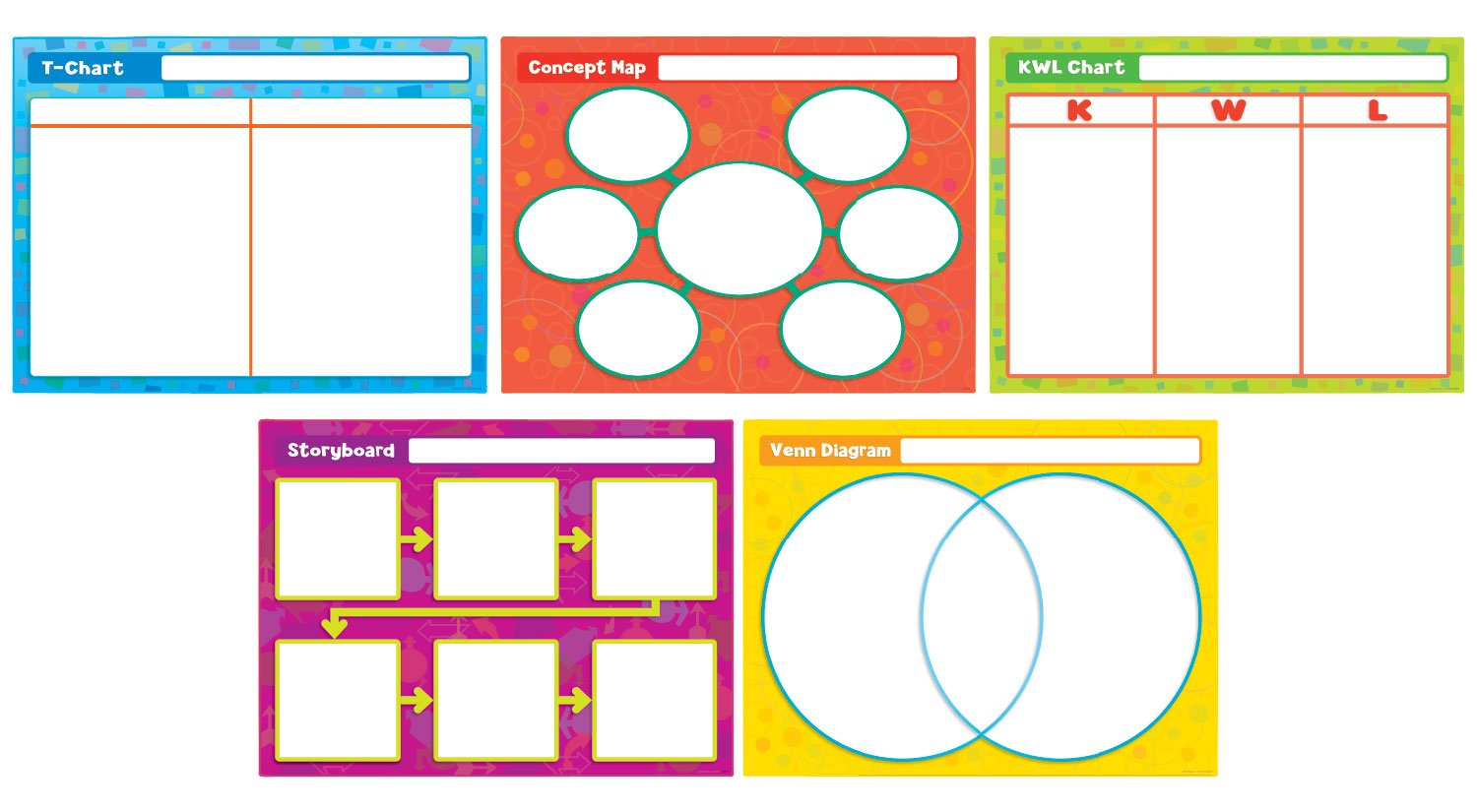 Scholastic Teaching Resources SC-541745 Great Graphic Organizers Bb Set