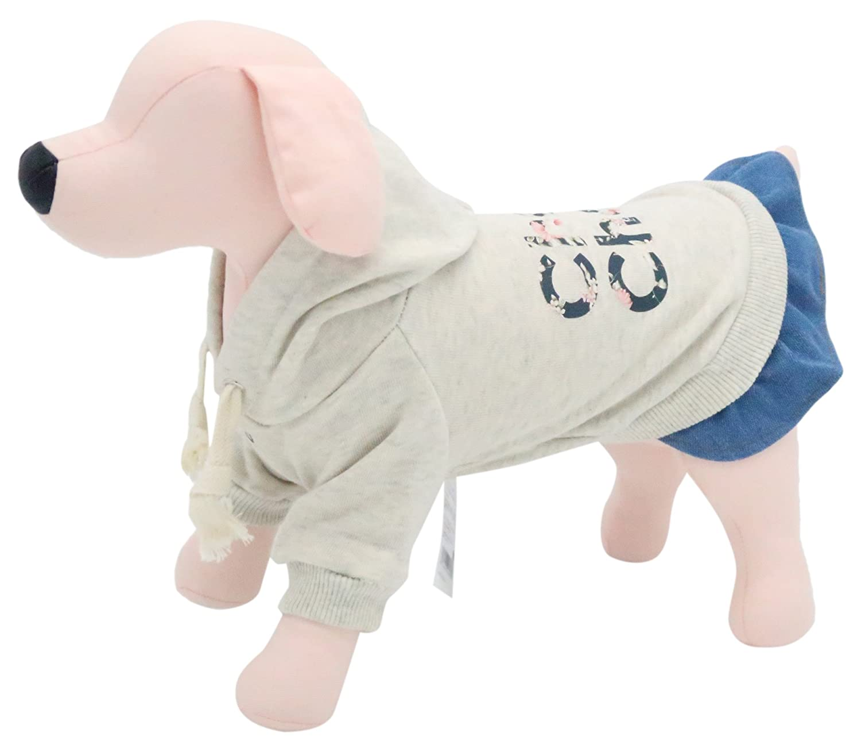 It's dog (ITS DOG) dog clothes Chou hood dress M