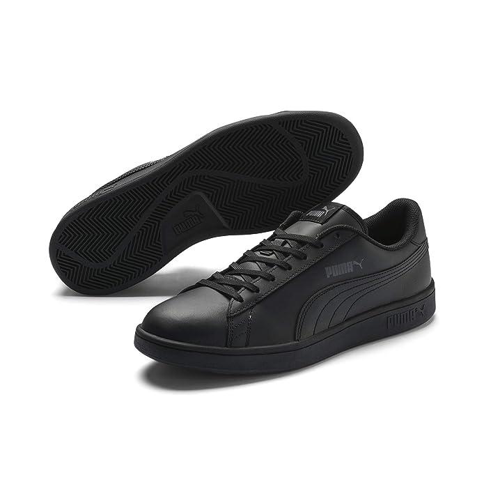 Puma Smash V2 L Sneaker Damen Herren Unisex Komplett Schwarz