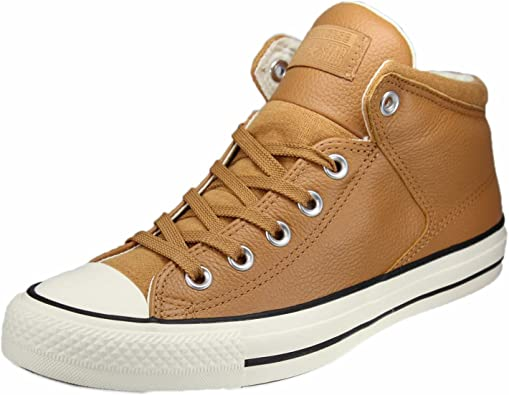 Converse CTAS High Street Hi Raw Sugar/Egret, Baskets Hautes Mixte Adulte