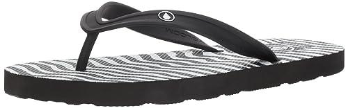 b28506fea Amazon.com  Volcom Men s Rocker 2 Graphic Print Sandal FLIP Flop  Shoes