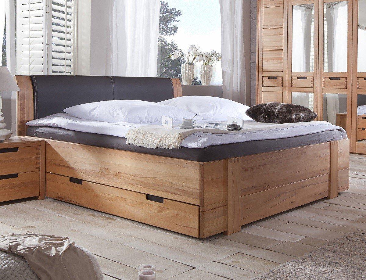 Dreams4Home Bett \'Remise\' - Ehebett, Doppelbett, 180x200 cm, ohne ...