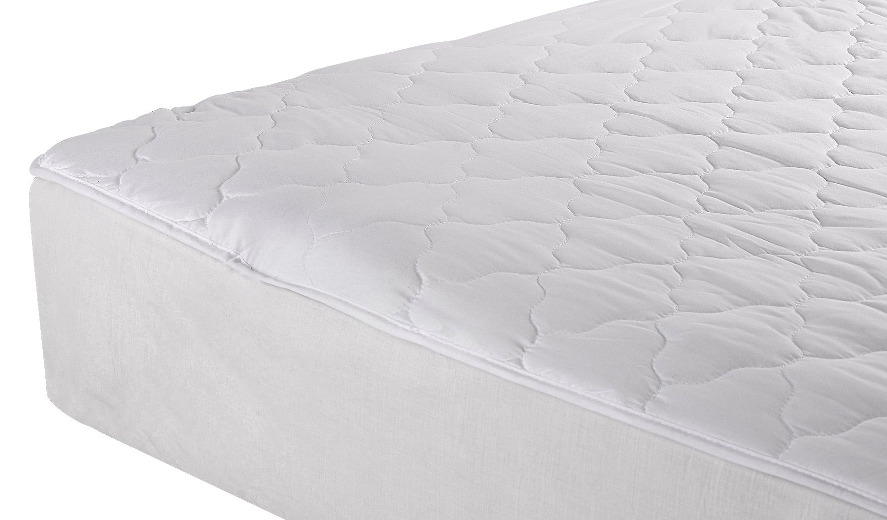 College Dorm Twin Extra Long Quilted Mattress Pad Cotton or Cotton Polyester(percale) …