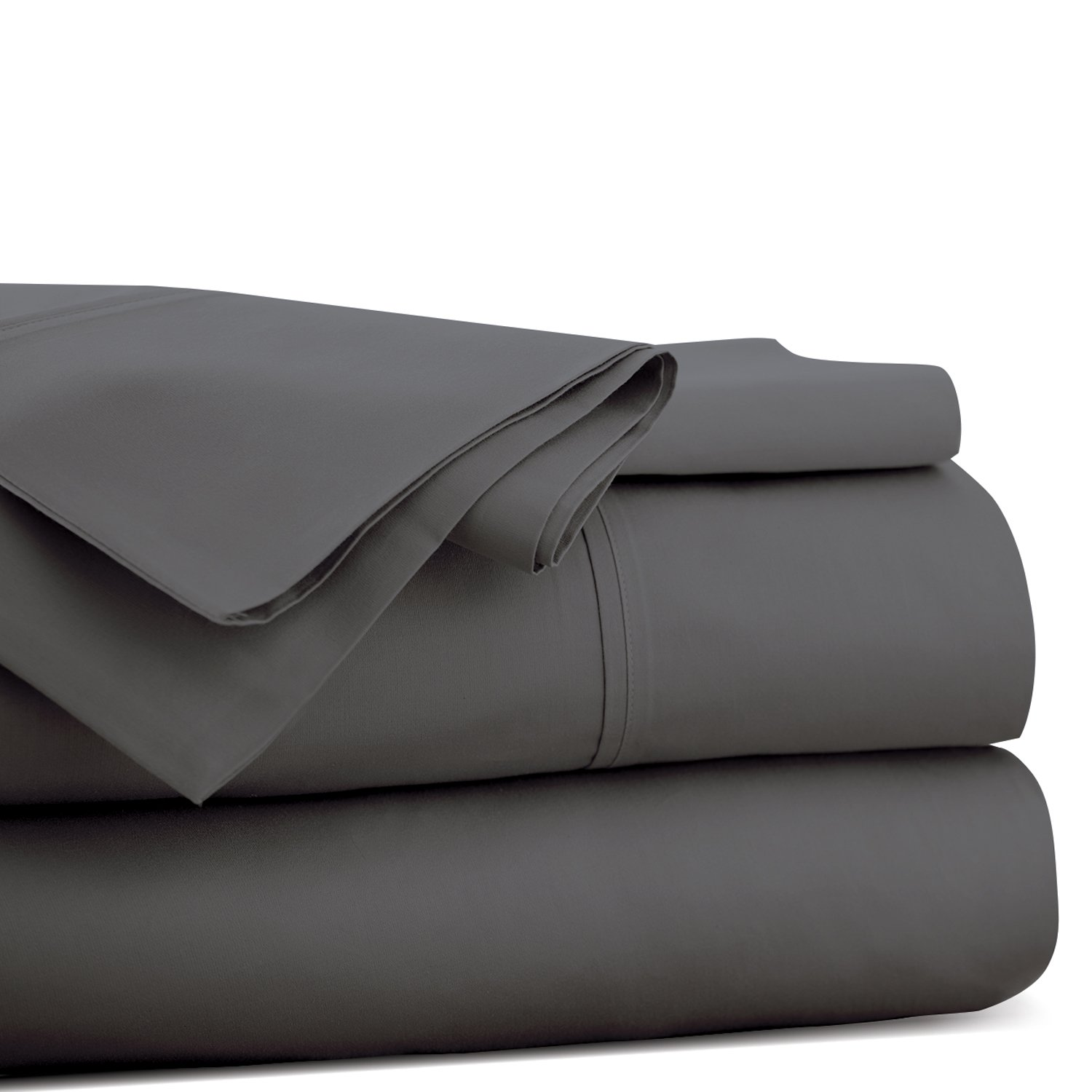 Beckham Hotel Collection Queen - Gray Flat Sheet