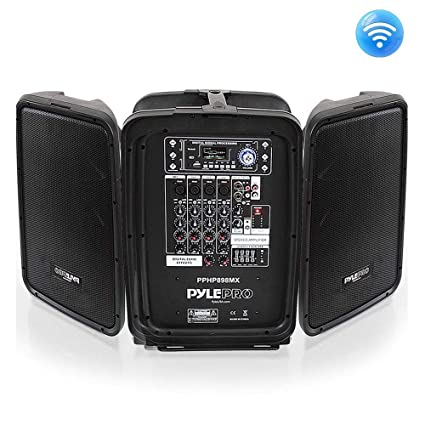 Review PA Speaker Powered Mixer