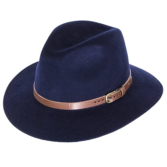 b0f2c3b1 Image Unavailable. Image not available for. Colour: City Sports Caps Hillstone  Crushable Fedora ...