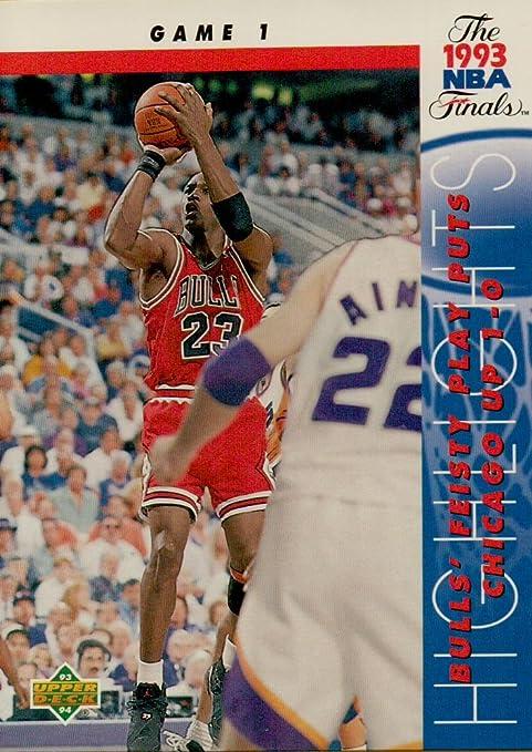 forma elegante fecha de lanzamiento: promoción especial MICHAEL JORDAN 1993 UPPER DECK NBA TRADING CARD