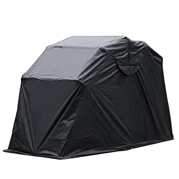 LOVSHARE Motorcycle shed 61u0026quot;x106u0026quot; Folding Motorbike Cover Metal Frame Motorcycle Shelter Storage Motorcycle  sc 1 st  Amazon.com & Amazon.com: LOVSHARE Motorcycle shed 61