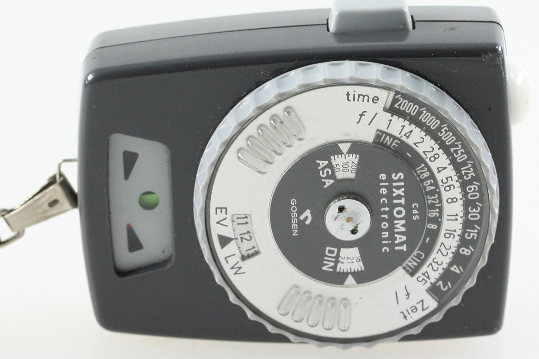 Gossen Sixtomat electronic Belichtungsmesser: Amazon.de: Elektronik