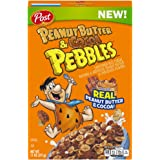Post Peanut Butter and Cocoa Pebbles Cereal, 11 oz, 12 Count