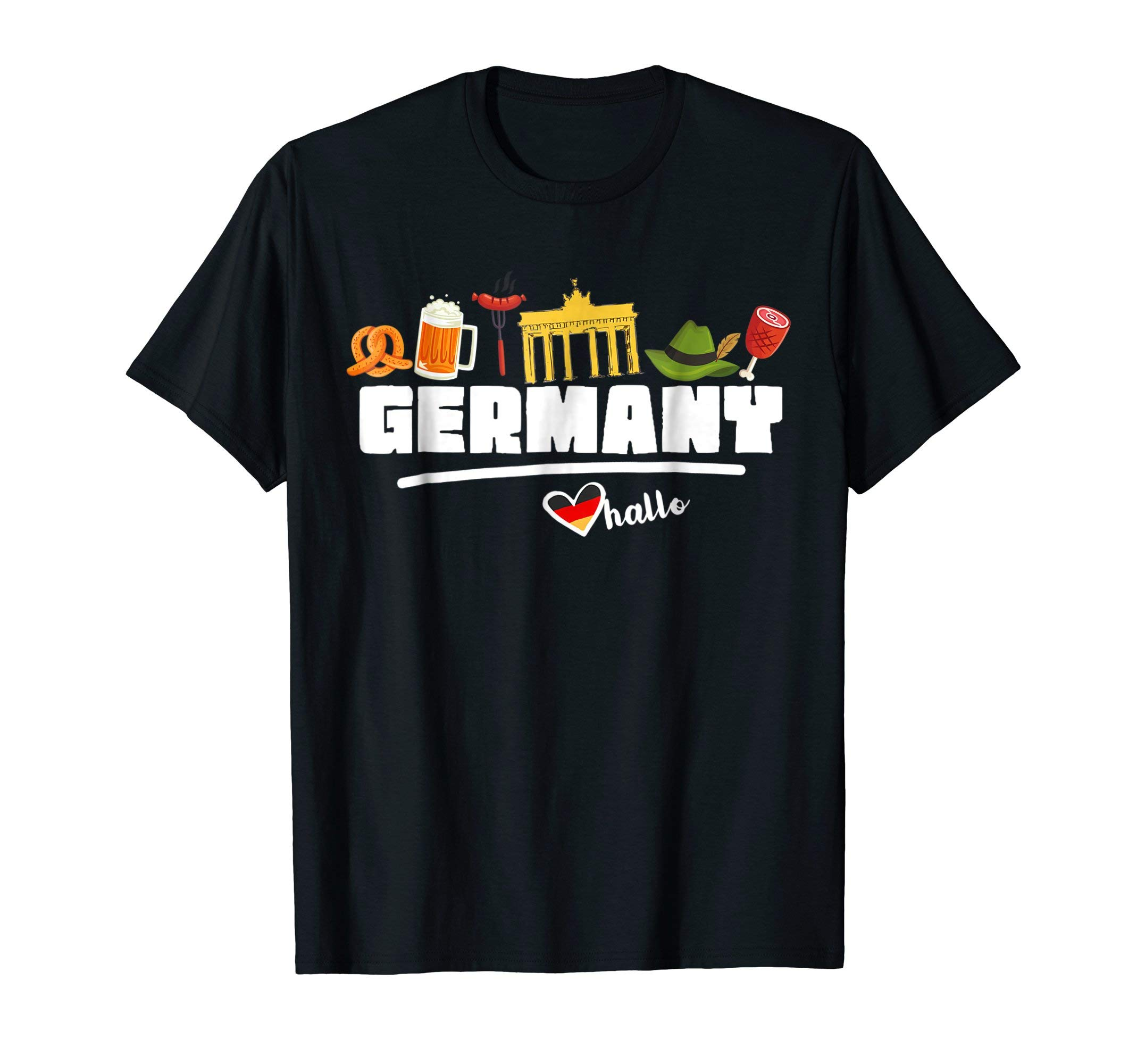 Germany Souvenir Shirt Travel Gifts For Men Europe Tee