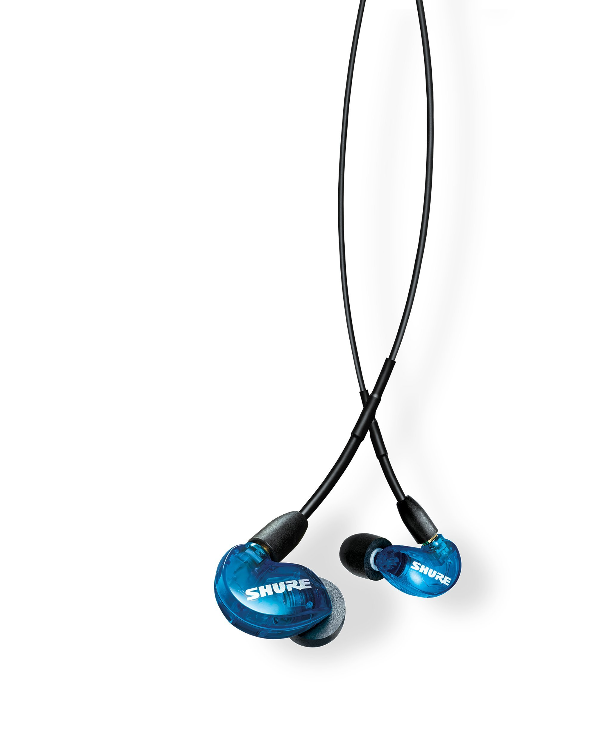Shure SE215SPE-B-UNI Special Edition Sound Isolating Earphones with Inline Remote & Mic for iOS/Android