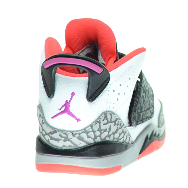 hot sale online 2dd0c c76e3 Amazon.com   Jordan Son Of Mars BT Toddlers Infants Shoes White Fuchsia