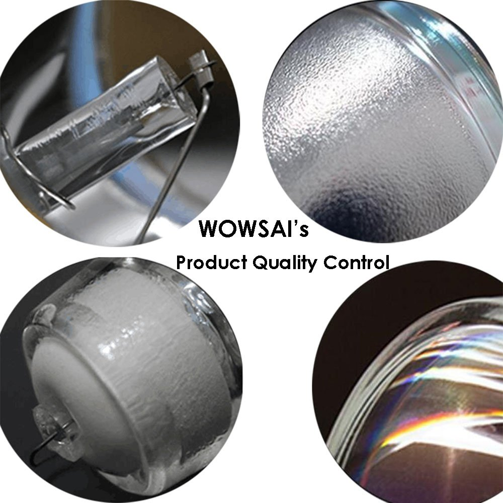WOWSAI TV Replacement Lamp in Housing for Mitsubishi WD-60735, WD-60737, WD-60C8, WD-65C8, WD-65C9 Televisions by WOWSAI