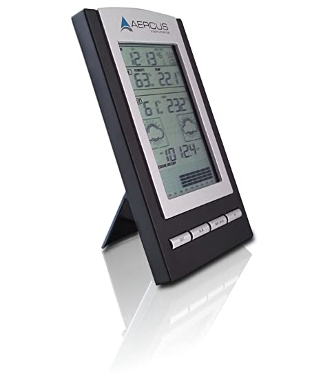 Weather Station Wireless Desktop WS1173 With Radio Controlled Time + Free 29 Page Setup/Maintenance