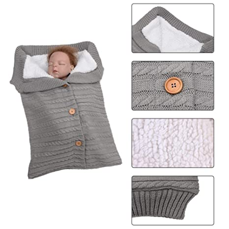 Saco de dormir de bebé recién nacido otoño invierno cálido ...
