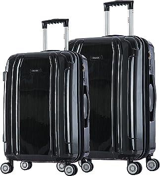 inUSA SouthWorld 23 /& 27 2-Piece Hardside Spinner Luggage Set