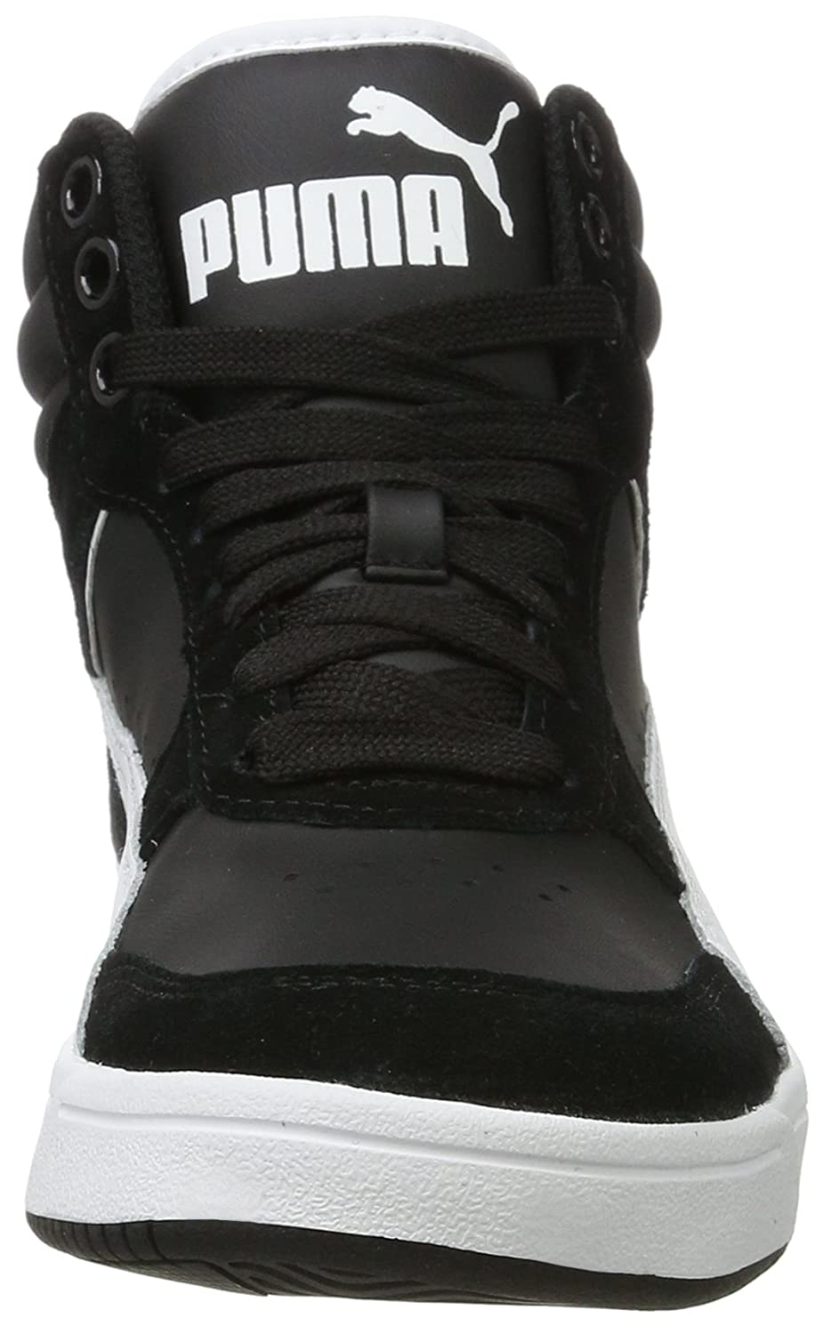 732e8b8432cdc5 Puma Unisex Adults Rebound Street V2 Hi-Top Trainers  Amazon.co.uk  Shoes    Bags