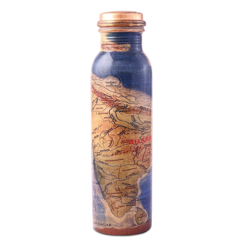 Amazon.com: Botella de agua de cobre ISHA Rally for Rivers ...