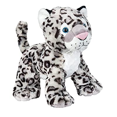 Cuddly Soft 8 inch Stuffed Snow Leopard...We Stuff 'em...You Love 'em!: Toys & Games